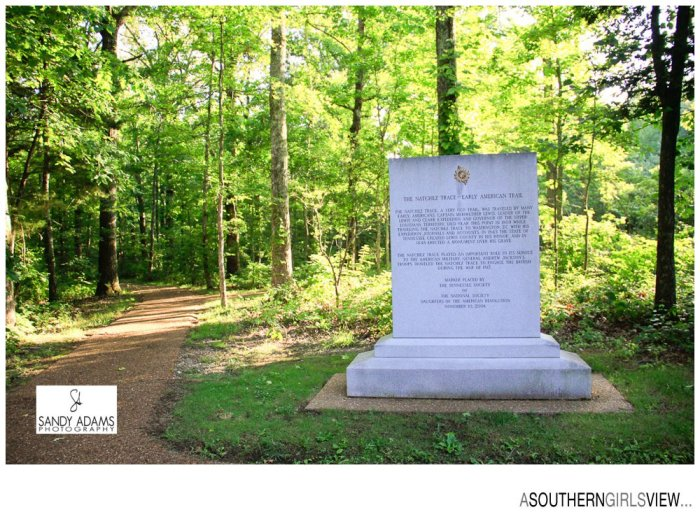 Sandy Adams Photography A Southern Girls View Meriweather Lewis gravesite Natchez Trace Travel Photographer-6831