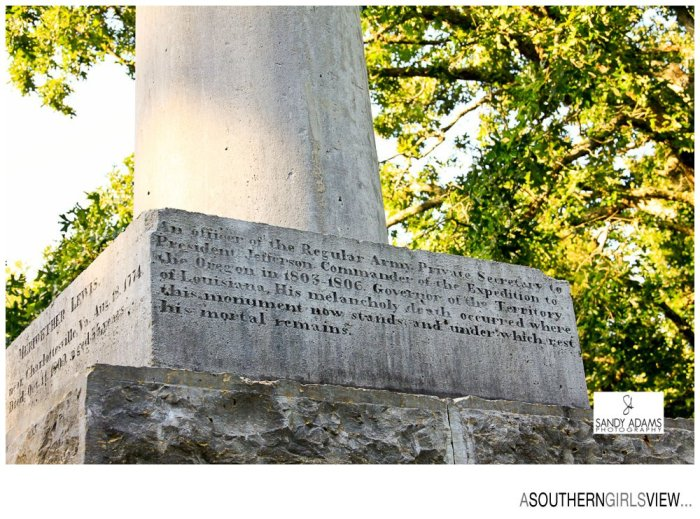 Sandy Adams Photography A Southern Girls View Meriweather Lewis gravesite Natchez Trace Travel Photographer-6845
